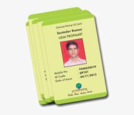 Employee ID Card Single Side