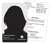 Employee ID Card Double Side
